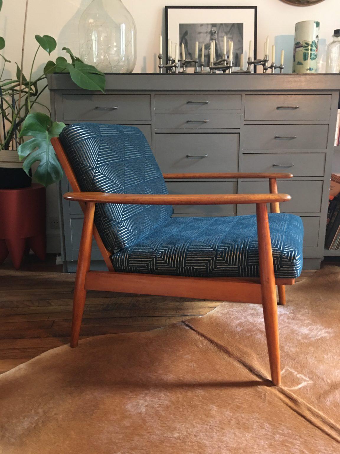 Les indiscrètes de Joséphine fauteuil rénové